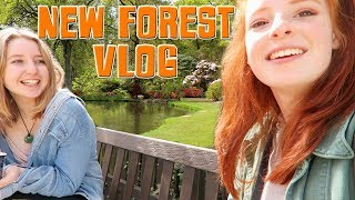 New Forest Vlog, Day Out at Exbury Gardens, Azaleas and Steam Train Video   NiliPod