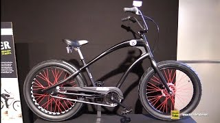 2016 Electra Straight 8 3i Cruiser Bike - Walkaround - 2015 Eurobike