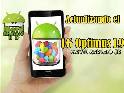 Actualizando el LG Optimus L9 a Jelly Bean (Androi