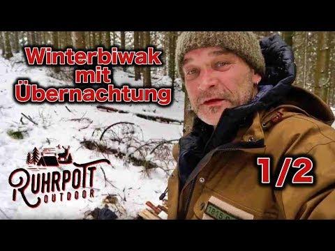 Winterbiwak mit Übernachtung - Teil 1/2 - Ruhrpott Outdoor1815