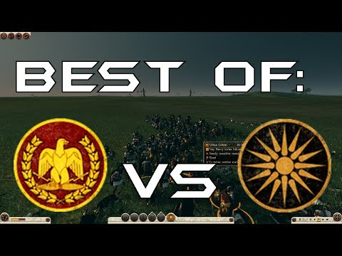 rome:-total-war-2-massive-battles---4-urban-cohorts-vs-4-sons-of-zeus-infantry-[ultra/1080p]