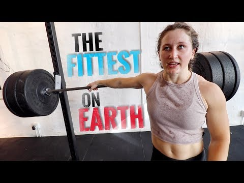 Full Morning Crossfit workout with TIA-CLAIR TOOMEY