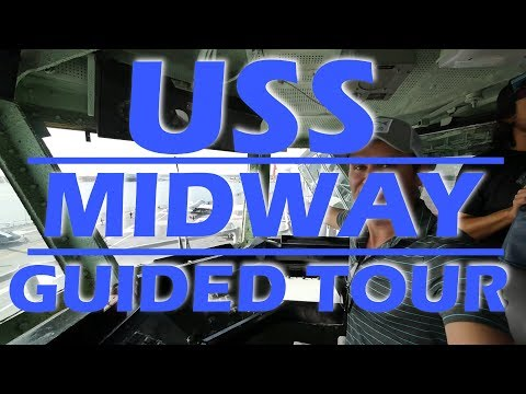 Aircraft Carrier USS Midway Guided Tour - Sailing Doodles