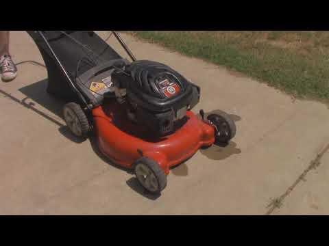 Yard Machines Mower with Powermore Motor Runs!
