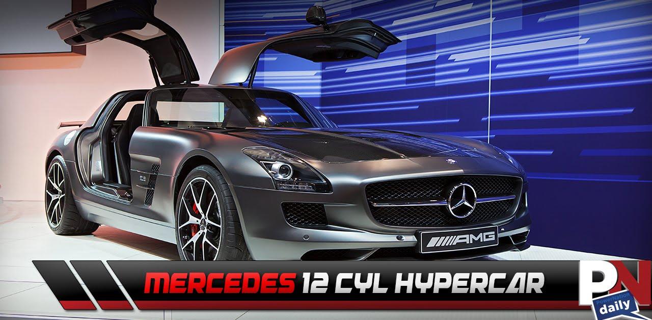 Mercedes Building a 12 Cylinder Hypercar - YouTube