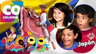 Niños Japoneses reaccionan a COLOMBIA [Esta es Colombia] [Por qué Colombia?]