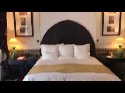 My Suite at La Mamounia Hotel in Marrakesh