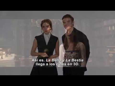 La Bella y la Bestia (Trailer con saludo de Emma Watson y Dan Stevens)