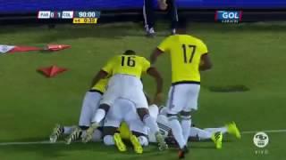 Paraguay 0 Colombia 1  Eliminatorias Sudamericanas Rusia 2018