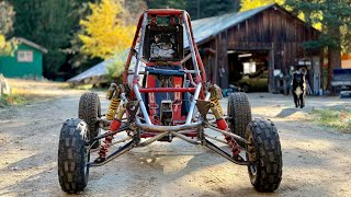 Honda Odyssey Long Travel Build ATV Front Suspension