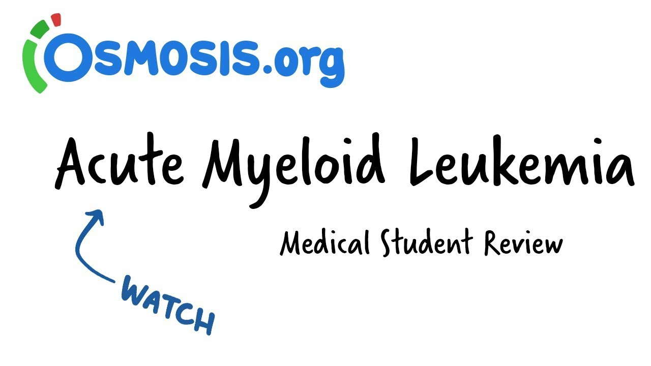 Acute Myeloid Leukemia | Clinical Presentation