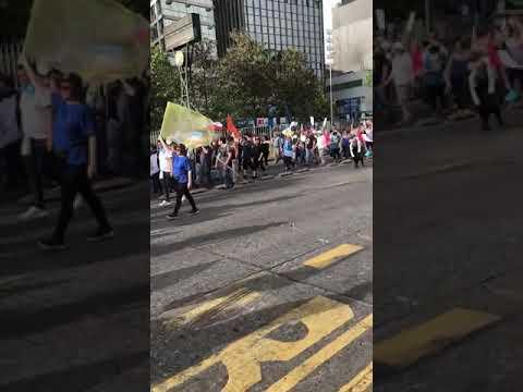 MARCHA CONTRA LOS DERECHOS LGBTI SANTIAGO DE CHILE - CANAL FARANDULA GAY