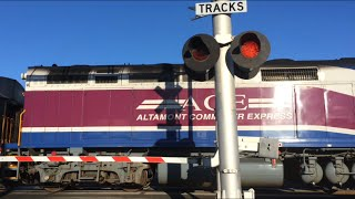 fremont blvd centerville station railroad crossing video 2 new up gate leds on other side