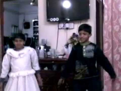 Afshan and Kids Dancing at Home