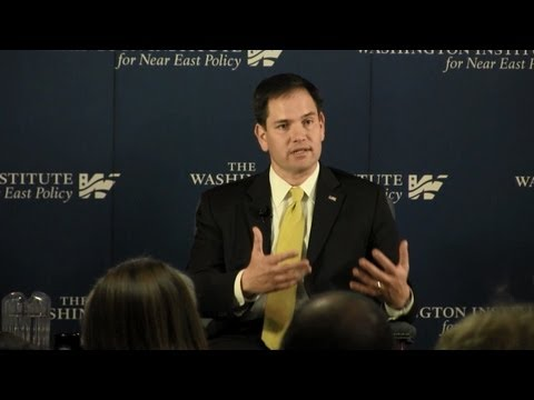 A Conversation on the Middle East featuring Senator Marco Rubio