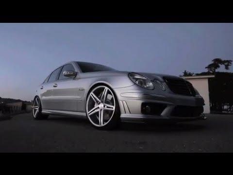 "Mercedes Benz Rims >> Mercedes Benz AMG E55 on 20"" Vossen VVS-CV5 Concave Wheels ..."
