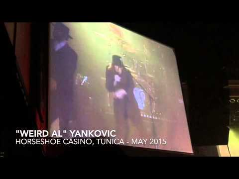 """Weird Al"" Yankovic Horseshoe Casino, Tunica May 2015"