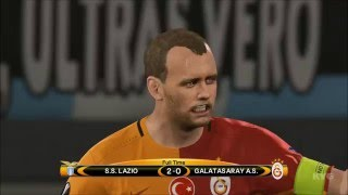 PES 2016 - UEFA Europa League - SS Lazio vs Galatasaray SK Gameplay (PS4 HD) [1080p60FPS]