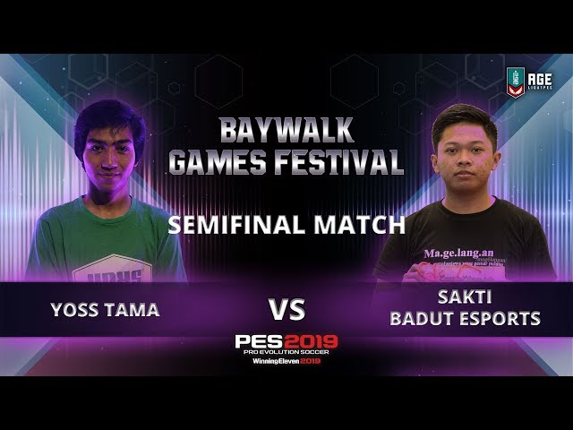 Hujan Gol Di Semifinals 1 Baywalk Games Festival 2018