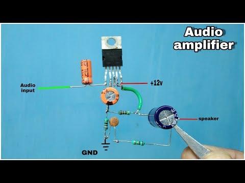 TDA 2003 Amplifikatör बनाए    10w Ses Yükseltici    Süper Bas Ses Yükseltici Devre    TDA 2003 Ic