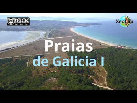 A paisaxe das nosas praias a vista de dron