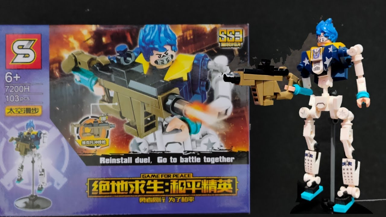 LEGO Game for Peace Character #8 I Sheng Yuan 7200H Knock-off