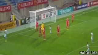 البلجيكي بنتيكي يسجل أسرع هدفٍ في تاريخ تصفيات كأس العالم