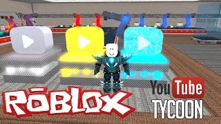 THE DIAMOND PLAY BUTTON - Roblox Youtuber Tycoon