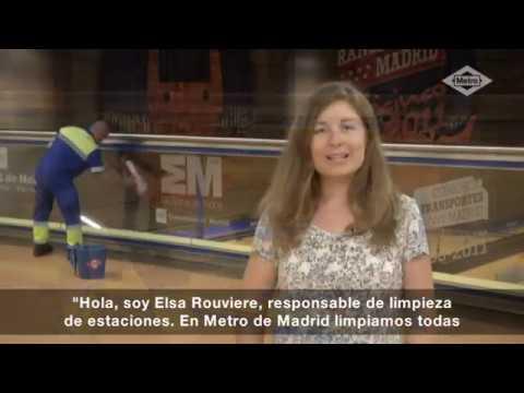Metrosaluda limpieza de estaciones youtube for Limpieza de jardines madrid