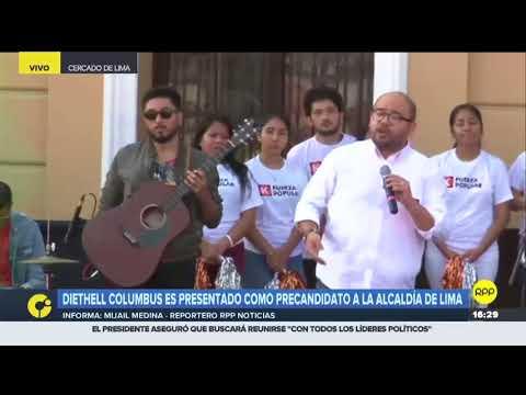Diethell Columbus será el representante de Fuerza Popular en elecciones para Lima