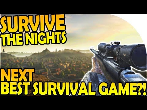 SURVIVE THE NIGHTS - NEXT BEST Survival Game?!- Survive the Nights First Impressions Gameplay Part 1