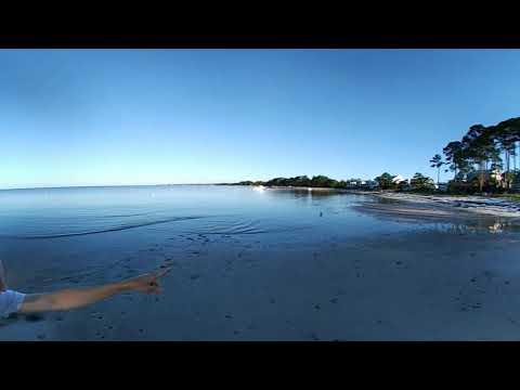 Morning At St Teresa Beach Fl 360 Video You