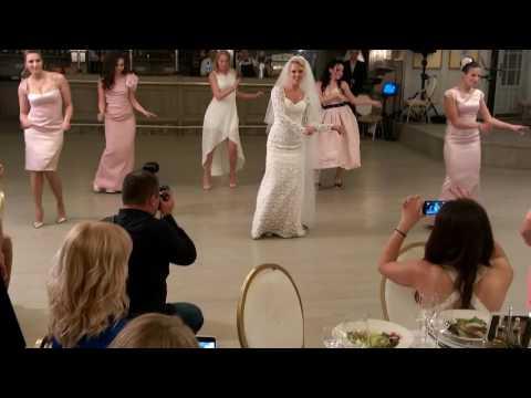 !!!Крутой танец невесты и подружек!!!!!