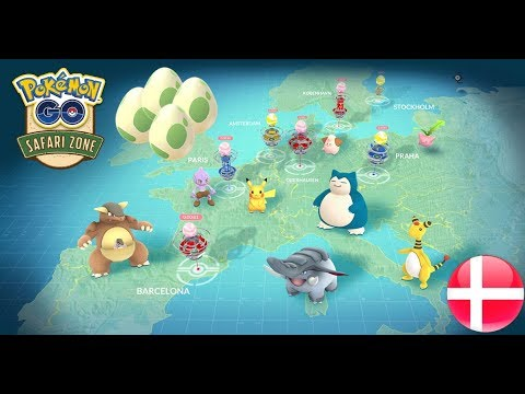 (Pokémon Go) Safari Zone Special 2km Eggs Hatch @ Copenhagen
