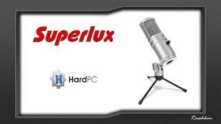 Superlux E205U - Test mikrofonu pojemnościowego na USB za niecałe 200 złotych