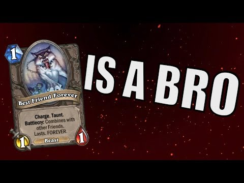 Download Hearthstone - Best Friend Forever is a Bro Mp4 baru