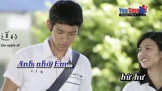 Bức Thư Tình Đầu Tiên Tấn Minh Karaoke Beat Chuẩn HatVoiNhau Xyz