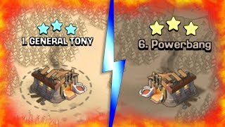 GENERAL TONY vs POWERBANG!! - Clash Of Clans - WORLDS TOP CLAN WHF!
