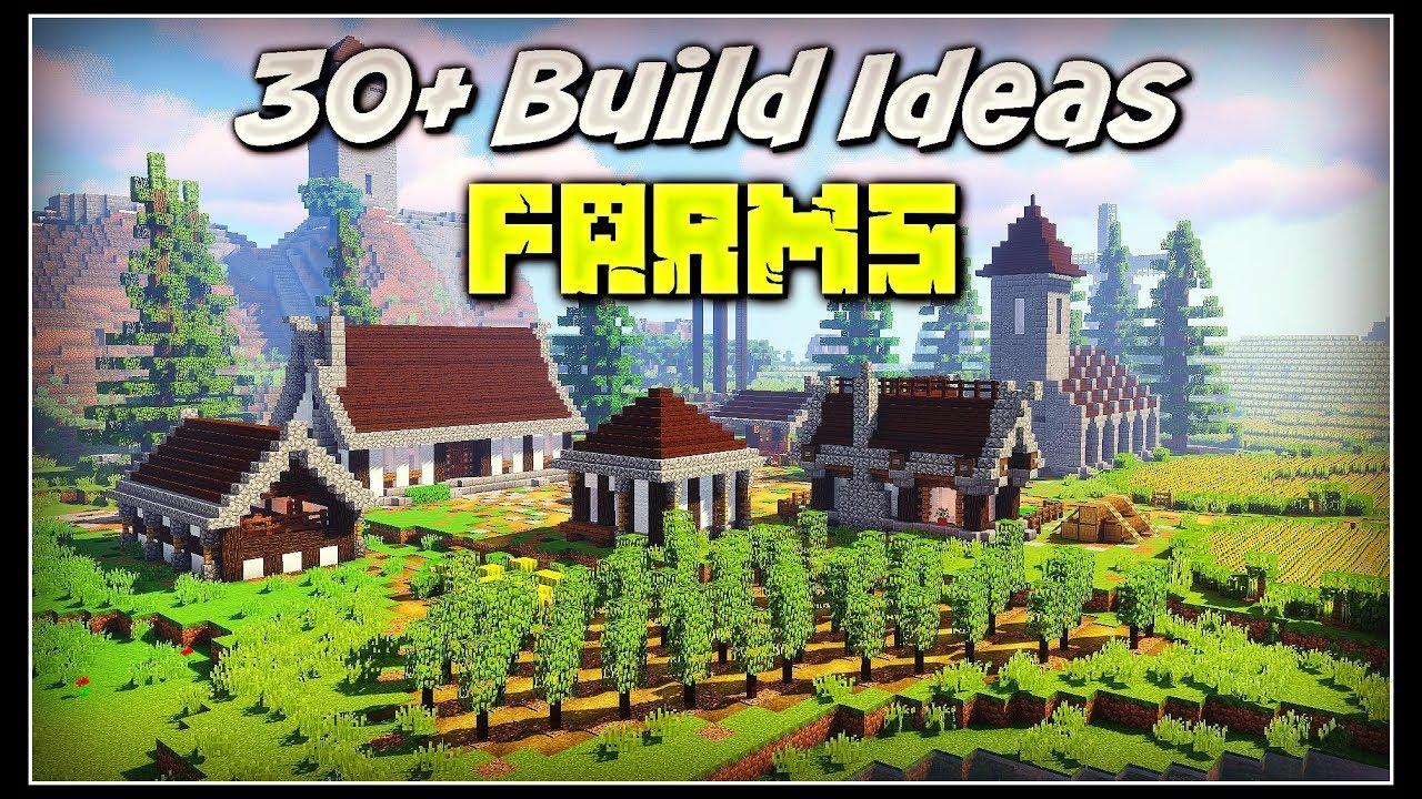 30  Minecraft Build Ideas
