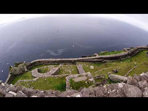 Skellig Michael (boat trip, little skellig & ascending to the monastery)