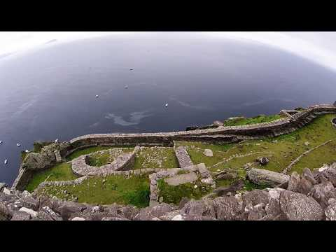 Skellig Michael (boat trip, little skellig & ascending to the monastery)