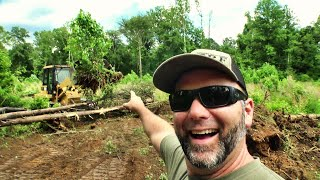 Clearing a hidden field you've never seen on our farm! You'll love this!