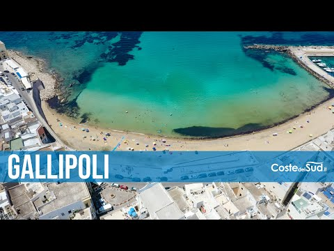 GALLIPOLI - Il mare, la spiaggia, la città e il centro storico - COSTE DEL SUD.it