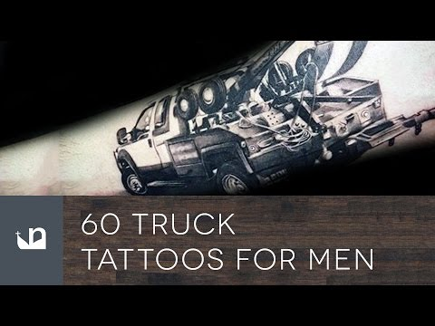 60 Truck Tattoos For Men