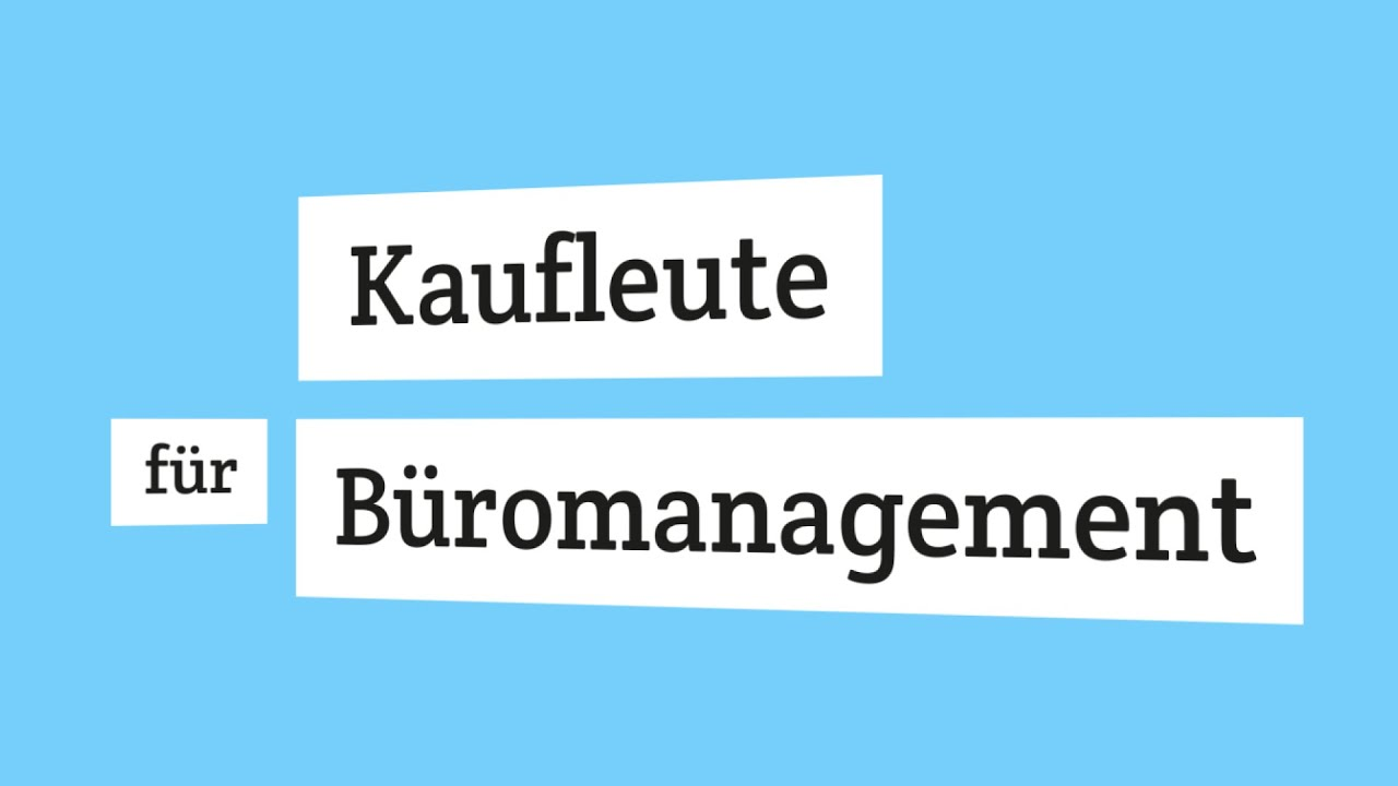 kauffrau kaufmann f r b romanagement wie ist deine pr fung aufgebaut youtube. Black Bedroom Furniture Sets. Home Design Ideas