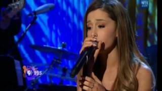 ariana grande and cymphonique duet to i have nothing by whitney houston