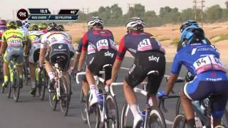 2016 Abu Dhabi Tour stage 1 highlights
