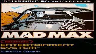 MAD MAX (1990 video game) - NES LONGPLAY - NO DEATH / NO MISS RUN (FULL GAMEPLAY)