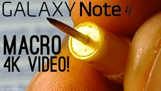 Galaxy Note 4 Video Camera Test | ColdfusTion