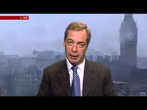 BBC: Nigel Farage's says the Conservatives lack courage with UK's 2013 budget (20Mar13)